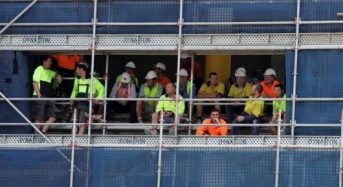 Good time to be a project owner but construction sector 'skills gap' may lie ahead.