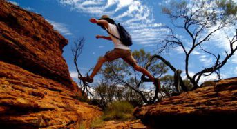 Want to improve mental toughness? Try the bush for a dynamic and interactive learning environment