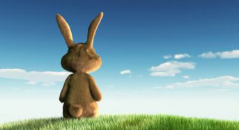 Did you think the Easter bunny was human-size or rabbit-size?
