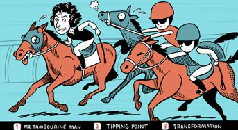 It's a super Melbourne Cup. Understanding transformation the key to finding the winner!