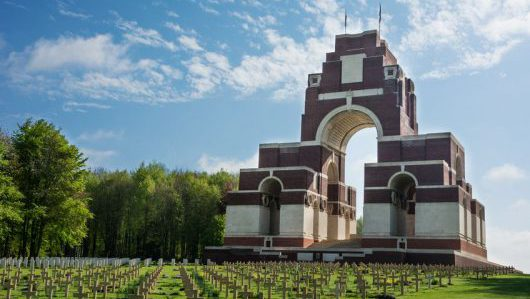 hiepval memorial to the first world war soldiers 1914-1918